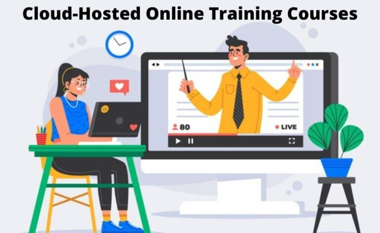 Cloud-Hosted Online Training Courses